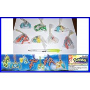Complete SET 7 Danglers with Figures POKEMON SWING COLLECTION Part 5 DANGLERS Original BANDAI GASHAPON