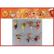 RARO Set 7 Miniature RETRO Nano CHUPA CHUPS Laccetto Danglers TRADING FIGURES