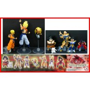DRAGONBALL Z Set 8 Figure Collezione PART 9 SAIYAN STORM Goku Vegeta Gogeta etc.