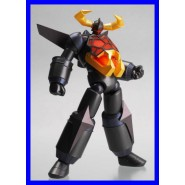 GAIKING Black FACE OPEN Figura Action KAIYODO REVOLTECH 039 Robot