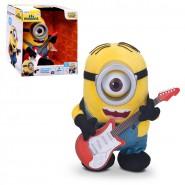 MINIONS Movie 2015 Talking PLUSH STUART ROCK 'N ROLL Sings Plays Guitar MINION
