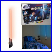 Star Wars LAMPADA PARETE Camera 60cm SPADA LASER Effetti Sonori ROOM LIGHT