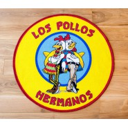 BREAKING BAD Rug LOS POLLOS HERMANOS 90x90cm