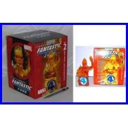 Figura Busto LA TORCIA UMANA in Resina FANTASTICI 4 Marvel DIAMOND SELECT Human Torch