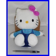 HELLO KITTY FIOCCO VIOLA Peluche 20cm ORIGINALE Bello !