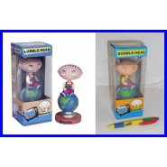 Figura STEWIE SUL MONDO Family Guy Griffin BOBBLE HEAD