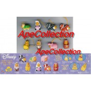 RARO Set 8 Figure WINNIE POOH Animal Wear SPECIAL EDITION Tomy USA Mini Winnies