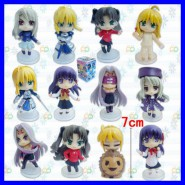 Complete Set 12 FIGURE from FATE STAY NIGHT 7cm