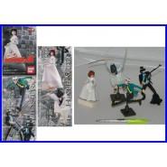 Complete SET 4 Figures LUPIN CAGLIOSTRO PART 2 Gashapon BANDAI JAPAN Jigen Goemon Clarissa