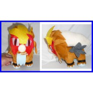 POKEMON Peluche ENTEI 20cm CANE LEGGENDARIO Raro INTROVABILE Nuovo NEW