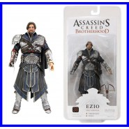 RARA Figura 18cm EZIO ONYX LIMITED EDITION Senza Cappuccio ASSASSIN'S CREED NECA