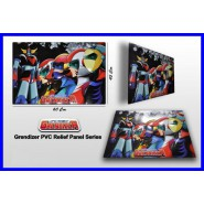 Plastic POSTER 3D Effect GRENDIZER GOLDORAK Actarus 60cm HIGH DREAM