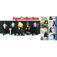 SET 5 Figure FINAL FANTASY VII 7 Advent Children BANDAI JAPAN Cloud Tifa etc RAR
