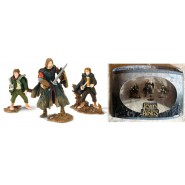 Signore degli Anelli BOX SET 3 Figure ATTACK AT AMON-HEN Play Along USA Lotr AOME
