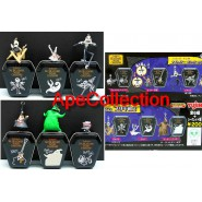 RARO SET 6 Ciondoli METAL TINS SERIE 2 di NIGHTMARE BEFORE XMAS YUJIN JAPAN Rare