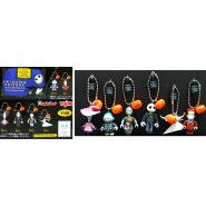 RARO SET 6 Ciondoli Figure ZUCCA HALLOWEEN di NIGHTMARE BEFORE CHRISTMAS Yujin XMAS
