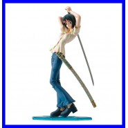 ONE PIECE Figura TASHIGI 25cm GIRL MARINA ORIGINALE Megahouse POP NEO P.O.P.