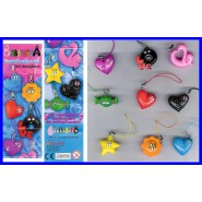 BARBAPAPA LOVE Complete SET 9 Figures DANGLERS Original