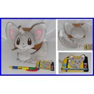 Pokemon STUPENDO Peluche MINCCINO 572 Chirami ORIGINALE Raro GIAPPONESE Tomy NEW