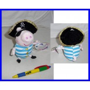 Plush Soft Toy GEORGE PIRATE Peppa Pig 15cm With SOUND Grunt Original