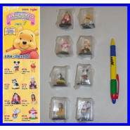 SET 8 Figure DISNEY CHARACTERS FIGURE COLLECTION Part 7 YUJIN JAPAN Gashapon