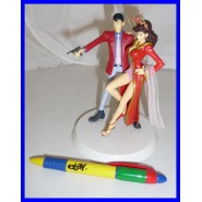 RARE Diorama Figures LUPIN and FUJIKO Together ORIGINAL Banpresto JAPAN