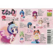 SET 6 Figure BINCHOU TAN PART 1 Girls YUJIN Gashapon MANGA JAPAN BINCHOUTAN