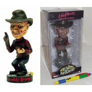 Figura Resina 18cm FREDDY KRUEGER Bobble HEAD KNOCKER Nightmare NECA