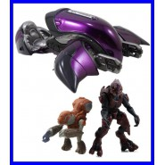 HALO 4 Modellino COVENANT GHOST Metallo con 2 FIGURE ACTION Originale XBOX Nuovo