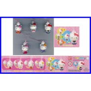 Top Price SET 5 Figure HELLO KITTY MORPHING Laccetto Dangler BANDAI Gashapon