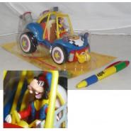 DISNEY Gadget Topolino DUNE BUGGY Auto Spiaggia PIPPO 2013 GOOFY CAR Limited NEW