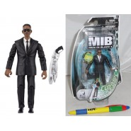 MEN IN BLACK 3 Figura Action 10cm AGENTE J Will Smith MIB Originale JAKKS