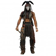 THE LONE RANGER Figura Action Gigante TONTO Johnny Depp 45cm SCALA 1/4 NECA
