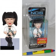 Figura 10cm ABBY SCIUTO Telefilm NCIS Bobble Head MONITOR MATE Original SDCC LTD