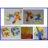 Dragonball Z RARO SET 2 Figure Diorama GOKU Contro VEGETA Banpresto JAPAN Boxed