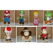 Big Plush 45cm SUPER MARIO  Original Beanie Bros Kart Galaxy