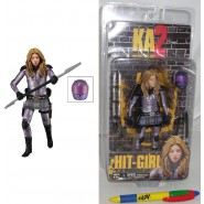 KICK-ASS 2 Serie 2 FIGURA Action HIT-GIRL Mindy Macready 17cm Originale NECA USA