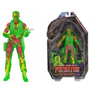 PREDATOR Figura Action THERMAL VISION DUTCH 18cm Originale Nuova NECA Serie 11
