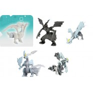 FIGURA Action VINILE Pokemon LEGGENDARIO Bianco Nero 15cm Originale TOMY Drago