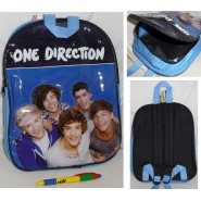 ZAINO Ufficiale ONE DIRECTION 1D 31x25 Originale Band HARRY Zainetto BACKPACK