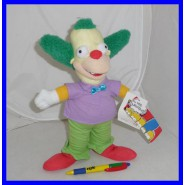SIMPSONS Plush KRUSTY THE CLOWN 30cm Original OFFICIAL United Labels