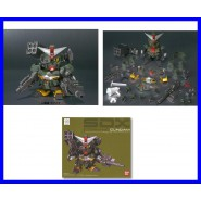 Raro KIT Robot Figura GUNDAM COMMAND SDX Metallo DIECAST Originale BANDAI Japan