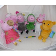 Plush PEPPA PIG 30cm SERIES 2 You Choose the CHARACTER Original Official GEORGE