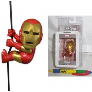 MINI Figura IRON MAN Tony Stark NECA SCALERS 5cm Originale WAVE 2 Nuovo MARVEL