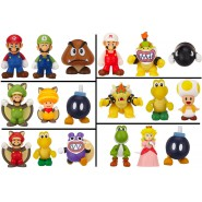 SUPER MARIO BROS U Set 3 MINI FIGURES Nintendo MICRO LAND Original JAKKS PACIFIC