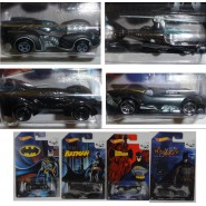 BATMAN Set 4 Models BATMOBILE Batcopter 75. Anniversary HOT WHEELS 1/64