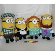 Plush 25cm MINION DRESSED from DESPICABLE ME 2 Original