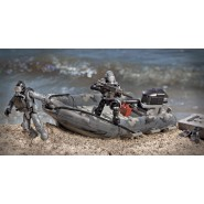 COD Call Of Duty RIB BEACH ASSAULT Gommone KIT Mega Bloks Costruzioni Ghosts PS3