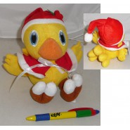 Plush 15cm CHOCOBO Dressed XMAS Yellow Bird FINAL FANTASY