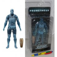 PROMETHEUS Action Figure ENGINEER PRESSURE SUIT Olographic NECA